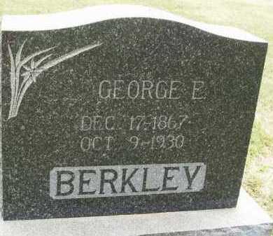 BERKLEY, GEORGE E - Kiowa County, Oklahoma | GEORGE E BERKLEY - Oklahoma Gravestone Photos