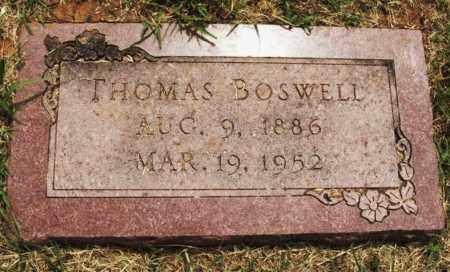 BOSWELL, THOMAS - Kiowa County, Oklahoma   THOMAS BOSWELL - Oklahoma Gravestone Photos