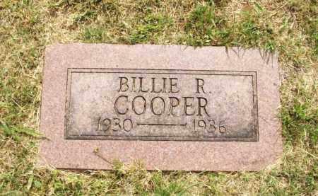 COOPER, BILLIE R - Kiowa County, Oklahoma | BILLIE R COOPER - Oklahoma Gravestone Photos