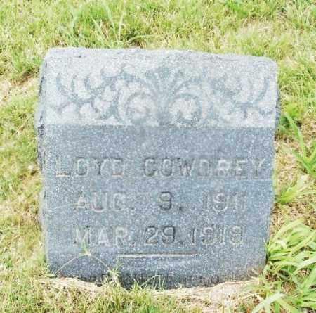 COWDREY, LOYD - Kiowa County, Oklahoma   LOYD COWDREY - Oklahoma Gravestone Photos
