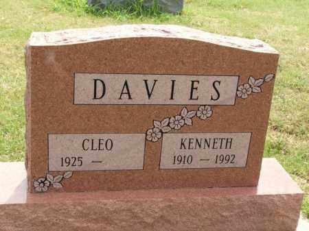 DAVIES, KENNETH - Kiowa County, Oklahoma | KENNETH DAVIES - Oklahoma Gravestone Photos