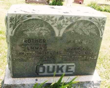 DUKE, JOHN T E - Kiowa County, Oklahoma | JOHN T E DUKE - Oklahoma Gravestone Photos