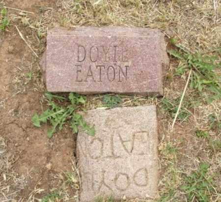 EATON, DOYLE - Kiowa County, Oklahoma   DOYLE EATON - Oklahoma Gravestone Photos