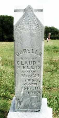 ELLIS, DORELLA - Kiowa County, Oklahoma   DORELLA ELLIS - Oklahoma Gravestone Photos