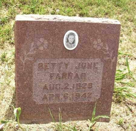 FARRAR, BETTY JUNE - Kiowa County, Oklahoma | BETTY JUNE FARRAR - Oklahoma Gravestone Photos