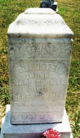 FOSTER, H - Kiowa County, Oklahoma | H FOSTER - Oklahoma Gravestone Photos