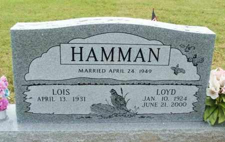 HAMMAN, LOIS - Kiowa County, Oklahoma | LOIS HAMMAN - Oklahoma Gravestone Photos