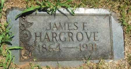 HARGROVE, JAMES F - Kiowa County, Oklahoma | JAMES F HARGROVE - Oklahoma Gravestone Photos