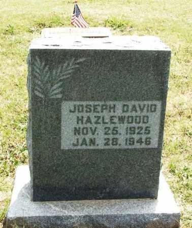 HAZLEWOOD, JOSEPH DAVID - Kiowa County, Oklahoma   JOSEPH DAVID HAZLEWOOD - Oklahoma Gravestone Photos