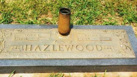 HAZLEWOOD, LOLA L - Kiowa County, Oklahoma   LOLA L HAZLEWOOD - Oklahoma Gravestone Photos