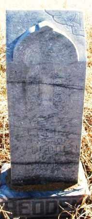 HEDDEN, EFFIE - Kiowa County, Oklahoma | EFFIE HEDDEN - Oklahoma Gravestone Photos
