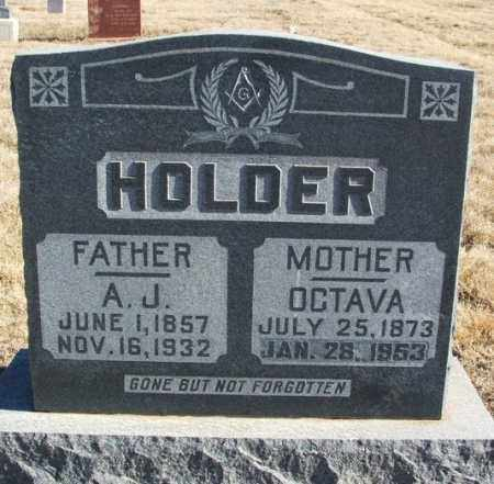 HOLDER, OCTAVA - Kiowa County, Oklahoma | OCTAVA HOLDER - Oklahoma Gravestone Photos