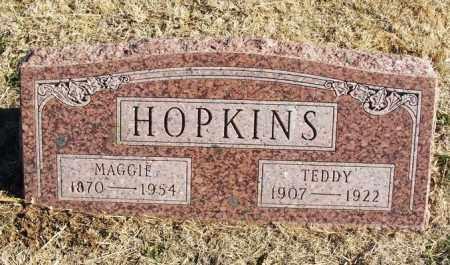 HOPKINS, TEDDY - Kiowa County, Oklahoma | TEDDY HOPKINS - Oklahoma Gravestone Photos