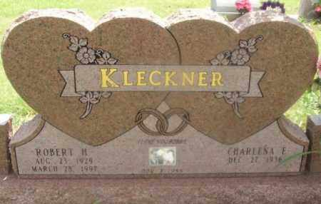 KLECKNER, ROBERT H - Kiowa County, Oklahoma | ROBERT H KLECKNER - Oklahoma Gravestone Photos