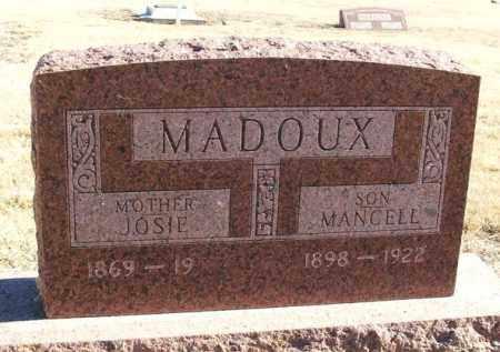 MADOUX, MANCELL - Kiowa County, Oklahoma | MANCELL MADOUX - Oklahoma Gravestone Photos
