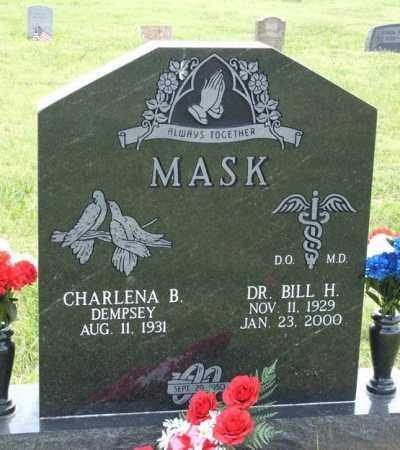 MASK, BILL H - Kiowa County, Oklahoma | BILL H MASK - Oklahoma Gravestone Photos