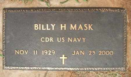 MASK (VETERAN), BILLY H - Kiowa County, Oklahoma | BILLY H MASK (VETERAN) - Oklahoma Gravestone Photos