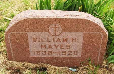 MAYES, WILLIAM H - Kiowa County, Oklahoma | WILLIAM H MAYES - Oklahoma Gravestone Photos