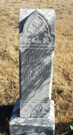 MCANINCH, RUBY ANN - Kiowa County, Oklahoma | RUBY ANN MCANINCH - Oklahoma Gravestone Photos