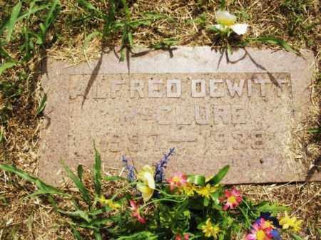 MCCLURE, ALFRED DEWITT - Kiowa County, Oklahoma | ALFRED DEWITT MCCLURE - Oklahoma Gravestone Photos