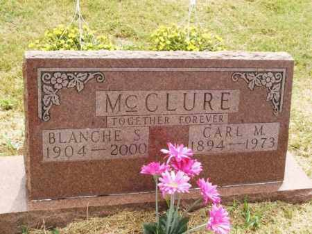 MCCLURE, BLANCHE S - Kiowa County, Oklahoma   BLANCHE S MCCLURE - Oklahoma Gravestone Photos