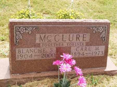 MCCLURE, BLANCHE S - Kiowa County, Oklahoma | BLANCHE S MCCLURE - Oklahoma Gravestone Photos