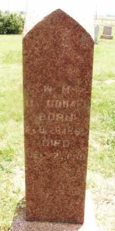 MCDONALD, W M - Kiowa County, Oklahoma | W M MCDONALD - Oklahoma Gravestone Photos