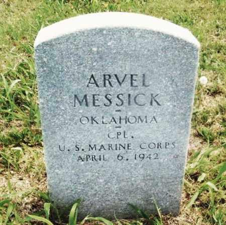 MESSICK (VETERAN), ARVEL - Kiowa County, Oklahoma | ARVEL MESSICK (VETERAN) - Oklahoma Gravestone Photos
