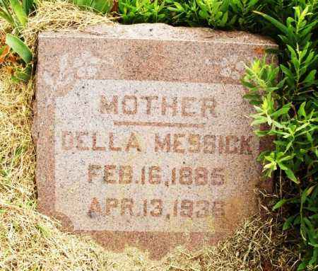 MESSICK, DELLA - Kiowa County, Oklahoma | DELLA MESSICK - Oklahoma Gravestone Photos