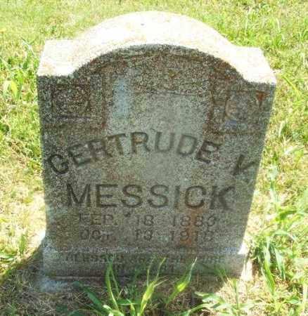 MESSICK, GERTRUDE K - Kiowa County, Oklahoma   GERTRUDE K MESSICK - Oklahoma Gravestone Photos