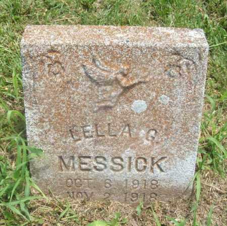 MESSICK, LELLA G - Kiowa County, Oklahoma | LELLA G MESSICK - Oklahoma Gravestone Photos