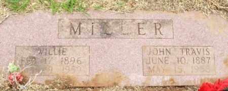 MILLER, JOHN TRAVIS - Kiowa County, Oklahoma | JOHN TRAVIS MILLER - Oklahoma Gravestone Photos