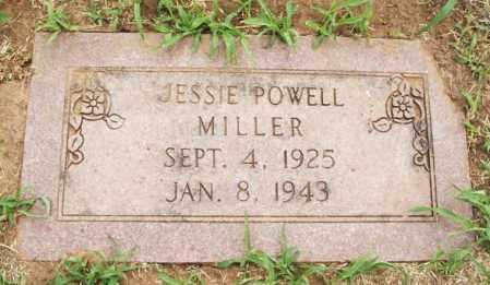 POWELL MILLER, JESSIE - Kiowa County, Oklahoma | JESSIE POWELL MILLER - Oklahoma Gravestone Photos