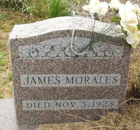 MORALES, JAMES - Kiowa County, Oklahoma | JAMES MORALES - Oklahoma Gravestone Photos