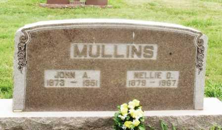 MULLINS, NELLIE D - Kiowa County, Oklahoma   NELLIE D MULLINS - Oklahoma Gravestone Photos