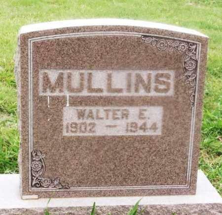 MULLINS, WALTER E - Kiowa County, Oklahoma   WALTER E MULLINS - Oklahoma Gravestone Photos