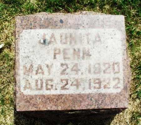 PENN, JAUNITA - Kiowa County, Oklahoma | JAUNITA PENN - Oklahoma Gravestone Photos
