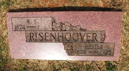 RISENHOOVER, W S - Kiowa County, Oklahoma | W S RISENHOOVER - Oklahoma Gravestone Photos