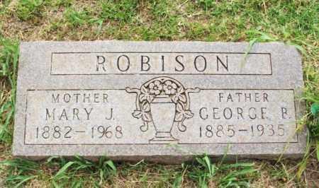 ROBISON, GEORGE B - Kiowa County, Oklahoma | GEORGE B ROBISON - Oklahoma Gravestone Photos