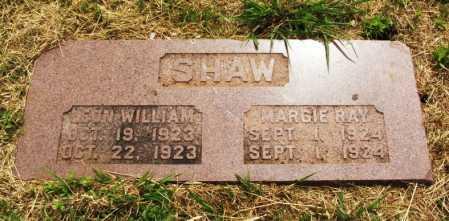 SHAW, LEON WILLIAM - Kiowa County, Oklahoma | LEON WILLIAM SHAW - Oklahoma Gravestone Photos
