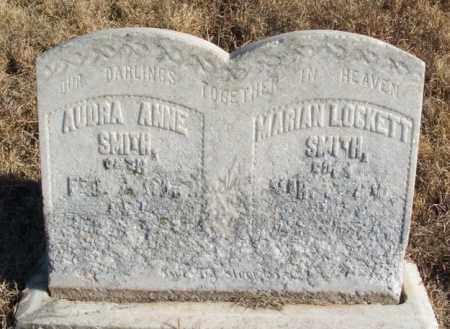 SMITH, AUDRA ANNE - Kiowa County, Oklahoma   AUDRA ANNE SMITH - Oklahoma Gravestone Photos