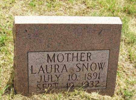 SNOW, LAURA - Kiowa County, Oklahoma | LAURA SNOW - Oklahoma Gravestone Photos