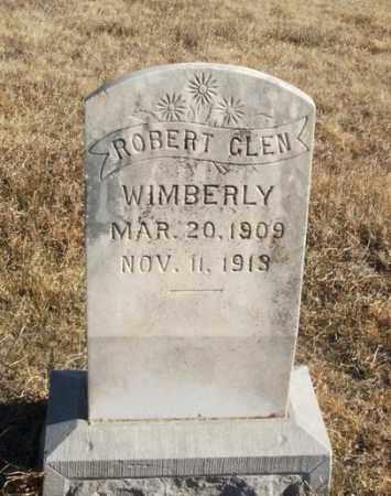 WIMBERLY, ROBERT GLEN - Kiowa County, Oklahoma | ROBERT GLEN WIMBERLY - Oklahoma Gravestone Photos