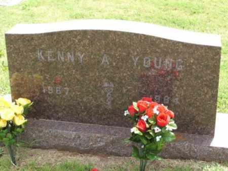 YOUNG, KENNY A - Kiowa County, Oklahoma | KENNY A YOUNG - Oklahoma Gravestone Photos