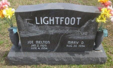 LIGHTFOOT, JOE MELTON - Latimer County, Oklahoma | JOE MELTON LIGHTFOOT - Oklahoma Gravestone Photos