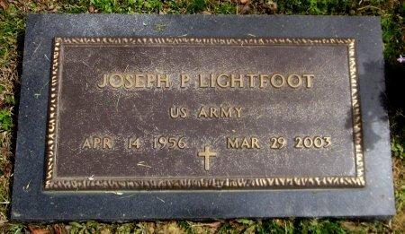 LIGHTFOOT, JOSEPH  P  (VETERAN) - Latimer County, Oklahoma | JOSEPH  P  (VETERAN) LIGHTFOOT - Oklahoma Gravestone Photos