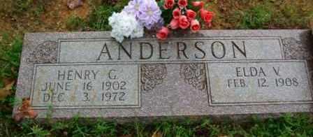 ANDERSON, HENRY G. - Le Flore County, Oklahoma | HENRY G. ANDERSON - Oklahoma Gravestone Photos