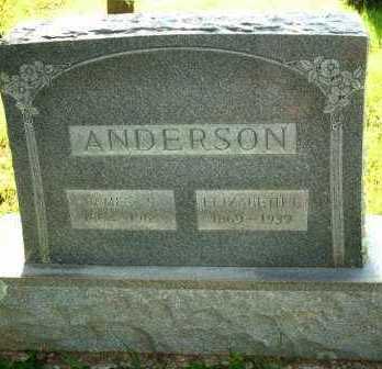 ANDERSON, ELIZABETH L. - Le Flore County, Oklahoma | ELIZABETH L. ANDERSON - Oklahoma Gravestone Photos