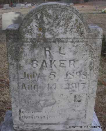 BAKER, R  L - Le Flore County, Oklahoma   R  L BAKER - Oklahoma Gravestone Photos