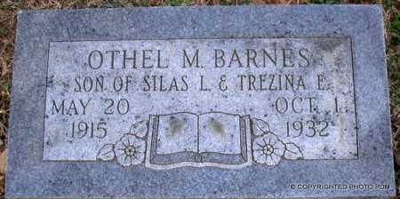 BARNES, OTHEL M - Le Flore County, Oklahoma   OTHEL M BARNES - Oklahoma Gravestone Photos